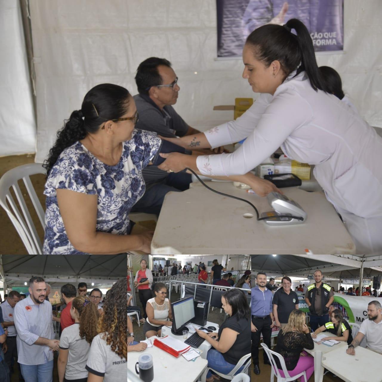 Prefeitura em Ação leva mais de 130 tipos de serviços à região do Residencial Caraíbas
