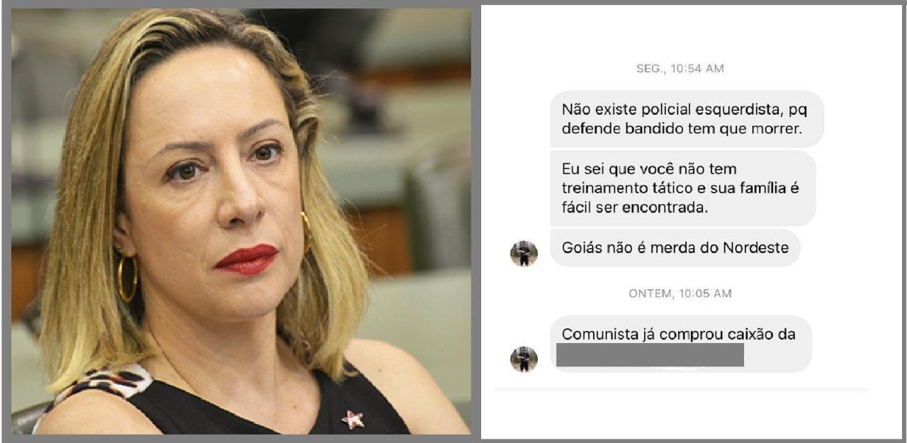 Usuário do Instagram ameaça de morte delegada Adriana Accorsi; ''defende bandido tem que morrer''