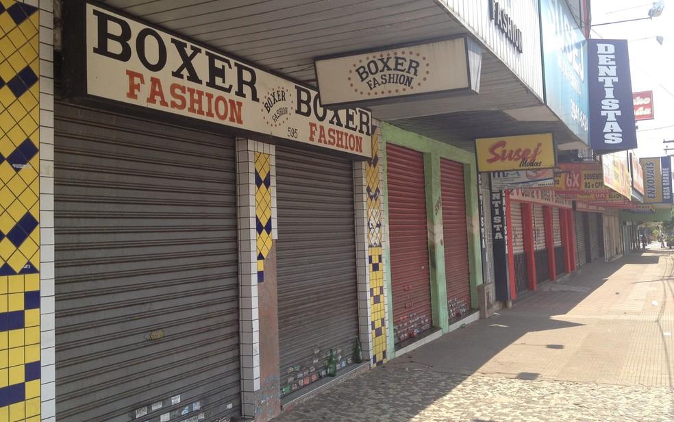Representantes classistas são contrários ao fechamento do comércio em Goiás