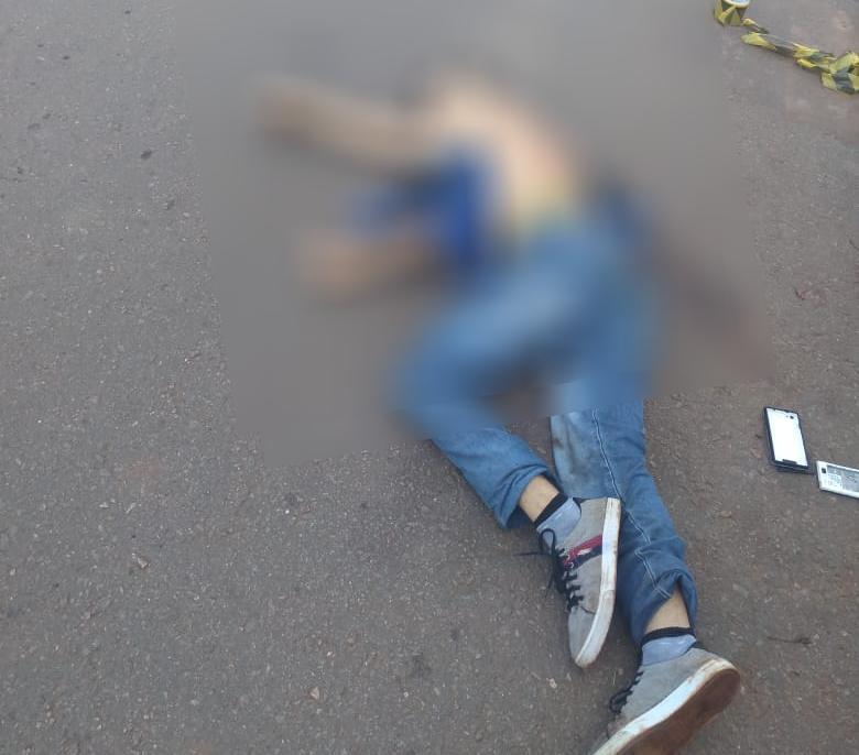 Homem morre na tentativa de assalto a GCM em Aparecida de Goi�nia