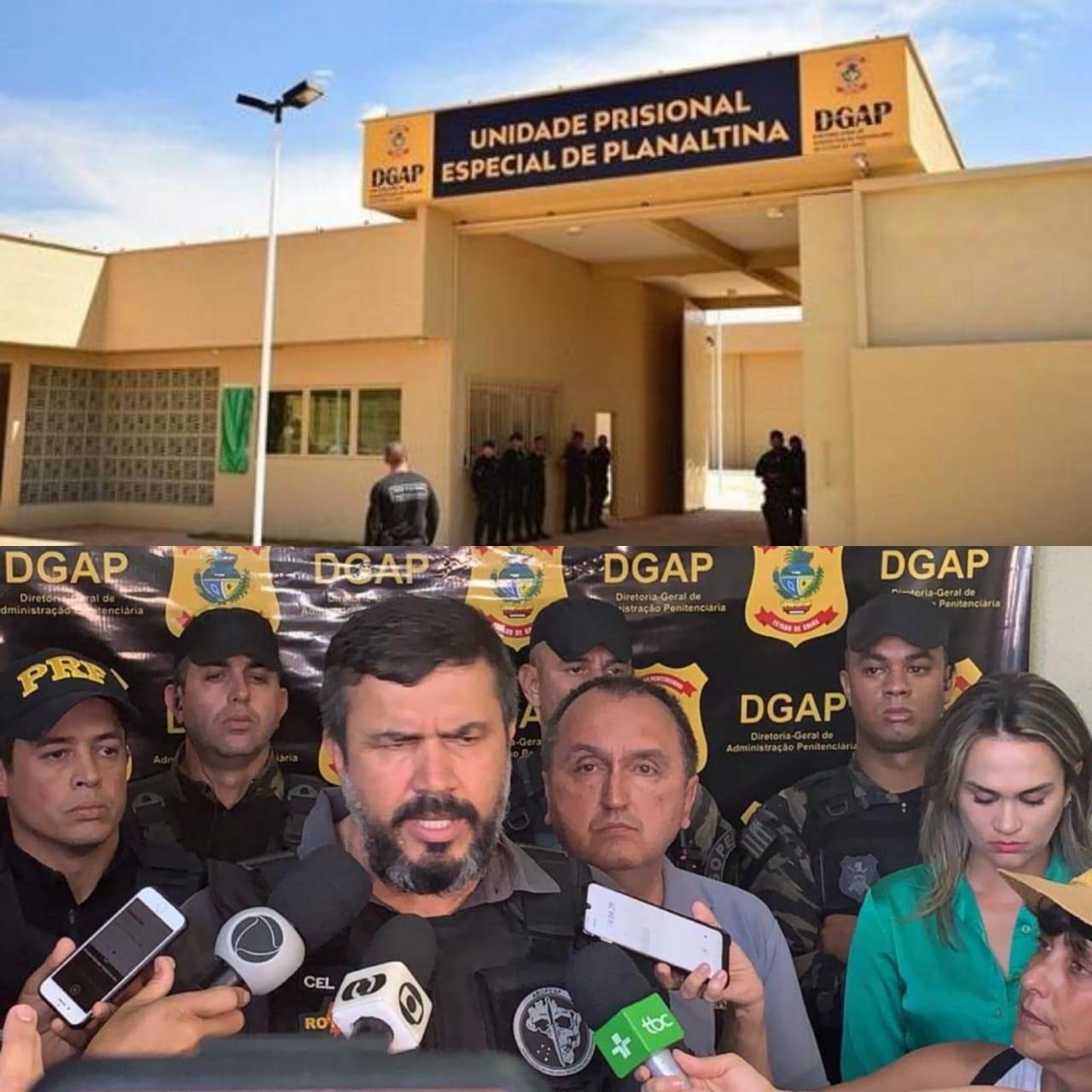 Detentos de alta periculosidade s�o transferidos para a pres�dio de Planaltina