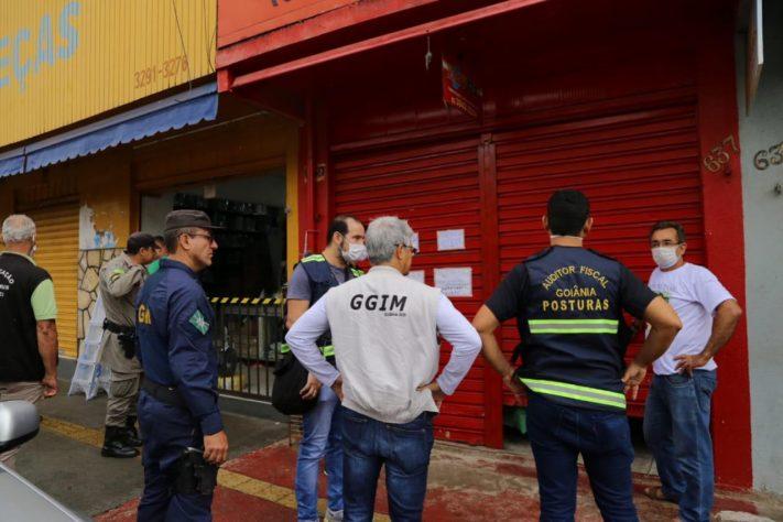 Liminar autoriza reabertura do com�rcio em Goi�nia