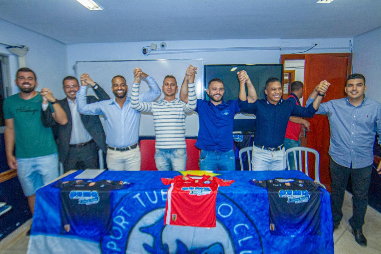 Com trabalho social, Sport Tubar�o Club pretende chegar � elite do futebol goiano