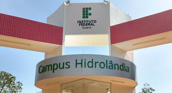 Hidrol�ndia ganha curso superior do IF Goiano