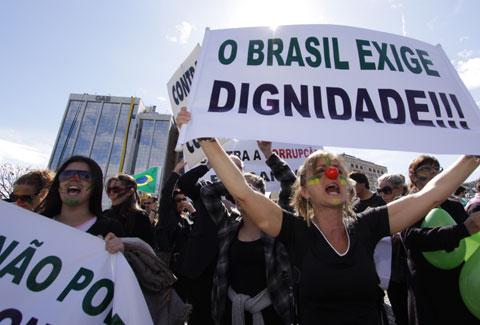 Corrup��o e suas consequ�ncias para o Brasil