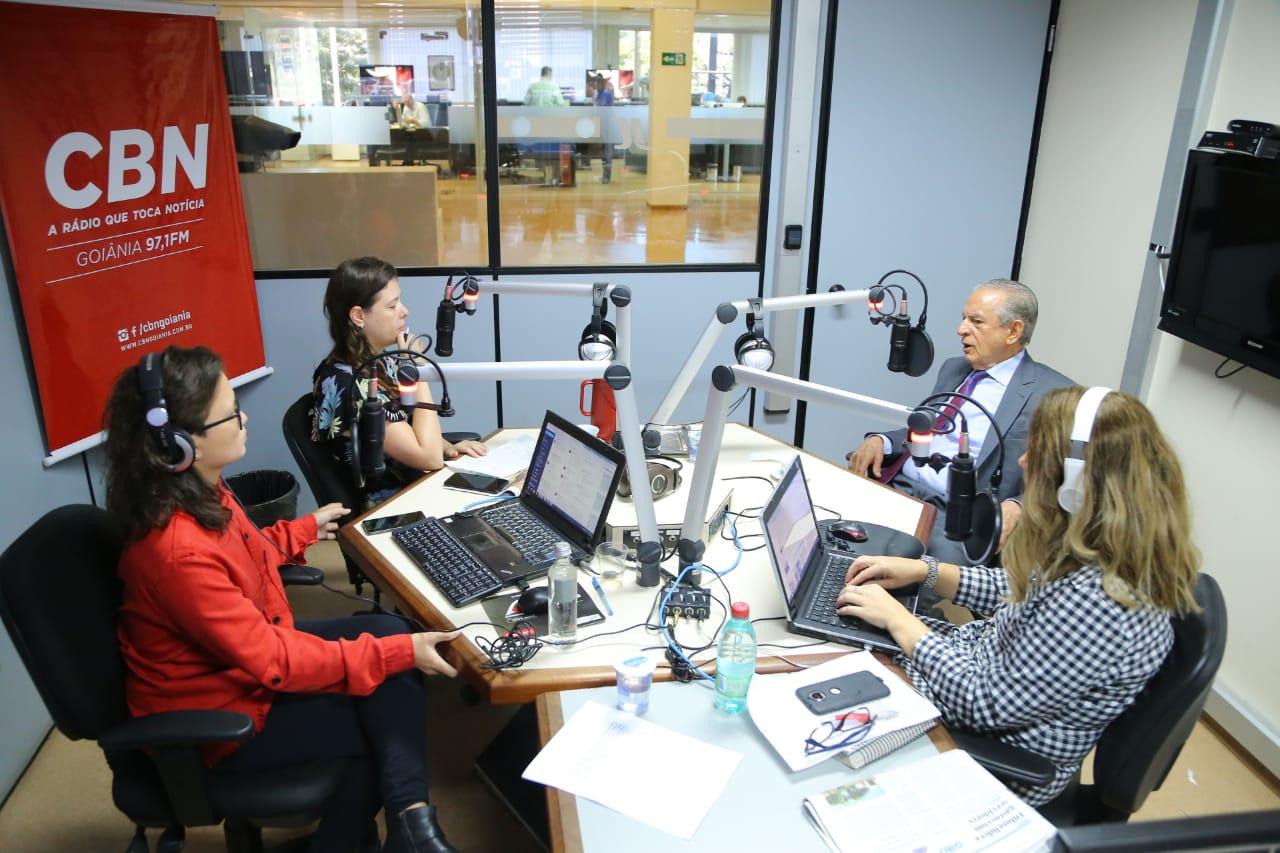 Em entrevistas, prefeito Iris Rezende faz balan�o da gest�o municipal