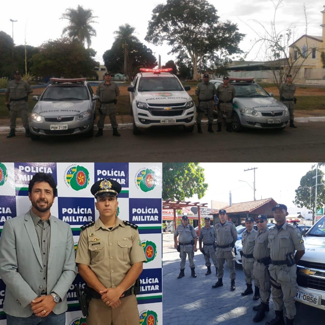Pol�cia Militar de Hidrol�ndia se torna refer�ncia no Estado de Goi�s