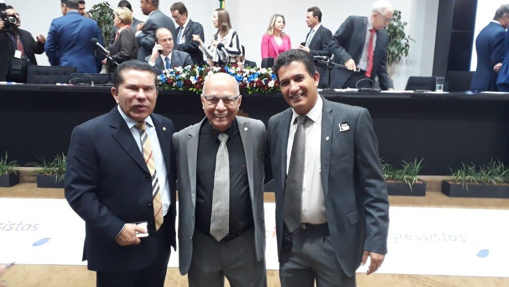 Vereador Rosildo discute recursos para Aparecida de Goiânia com deputados progressistas