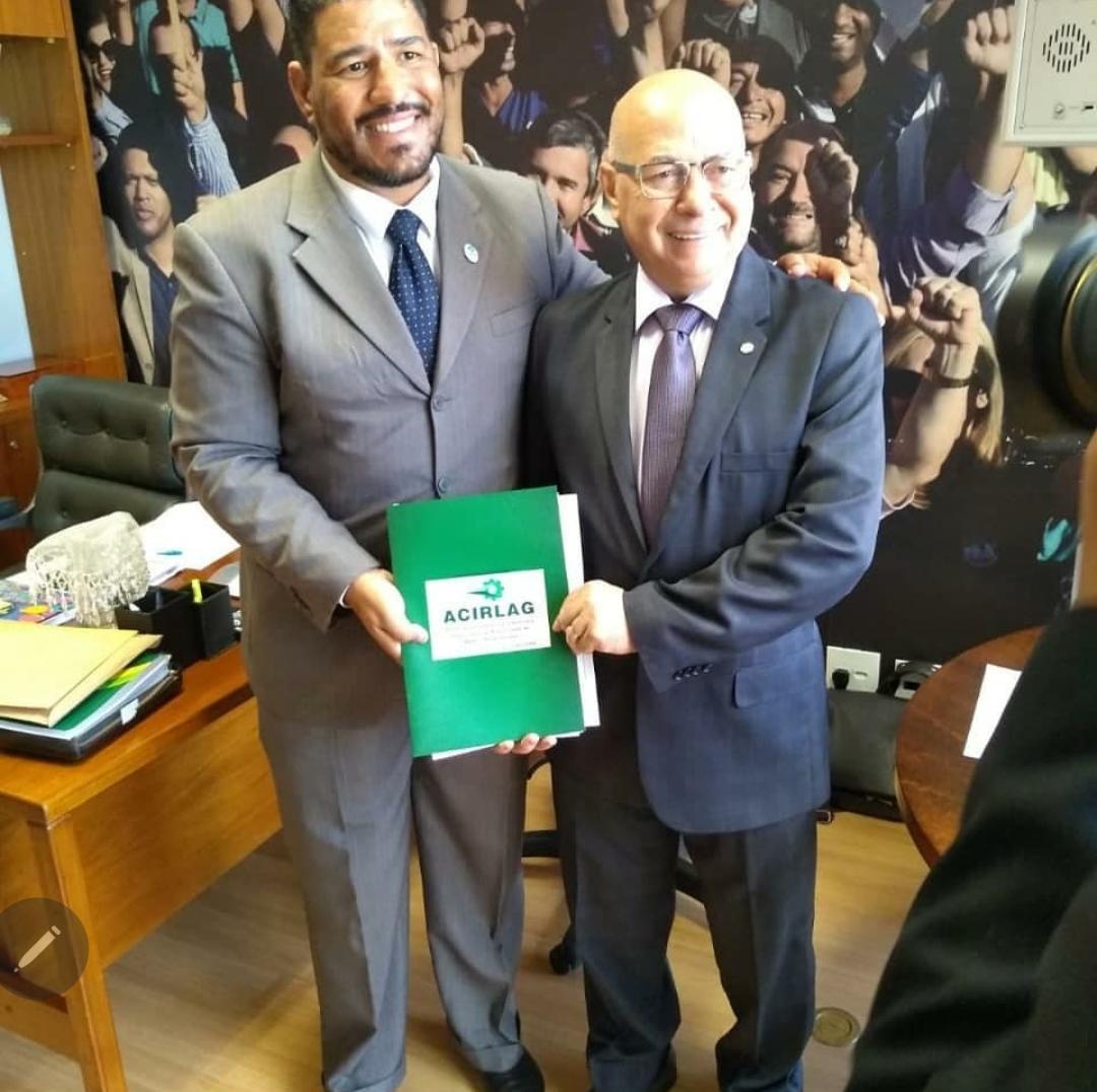 Presidente da ACIRLAG defende o nome do deputado Professor Alcides a ministro da Educa��o