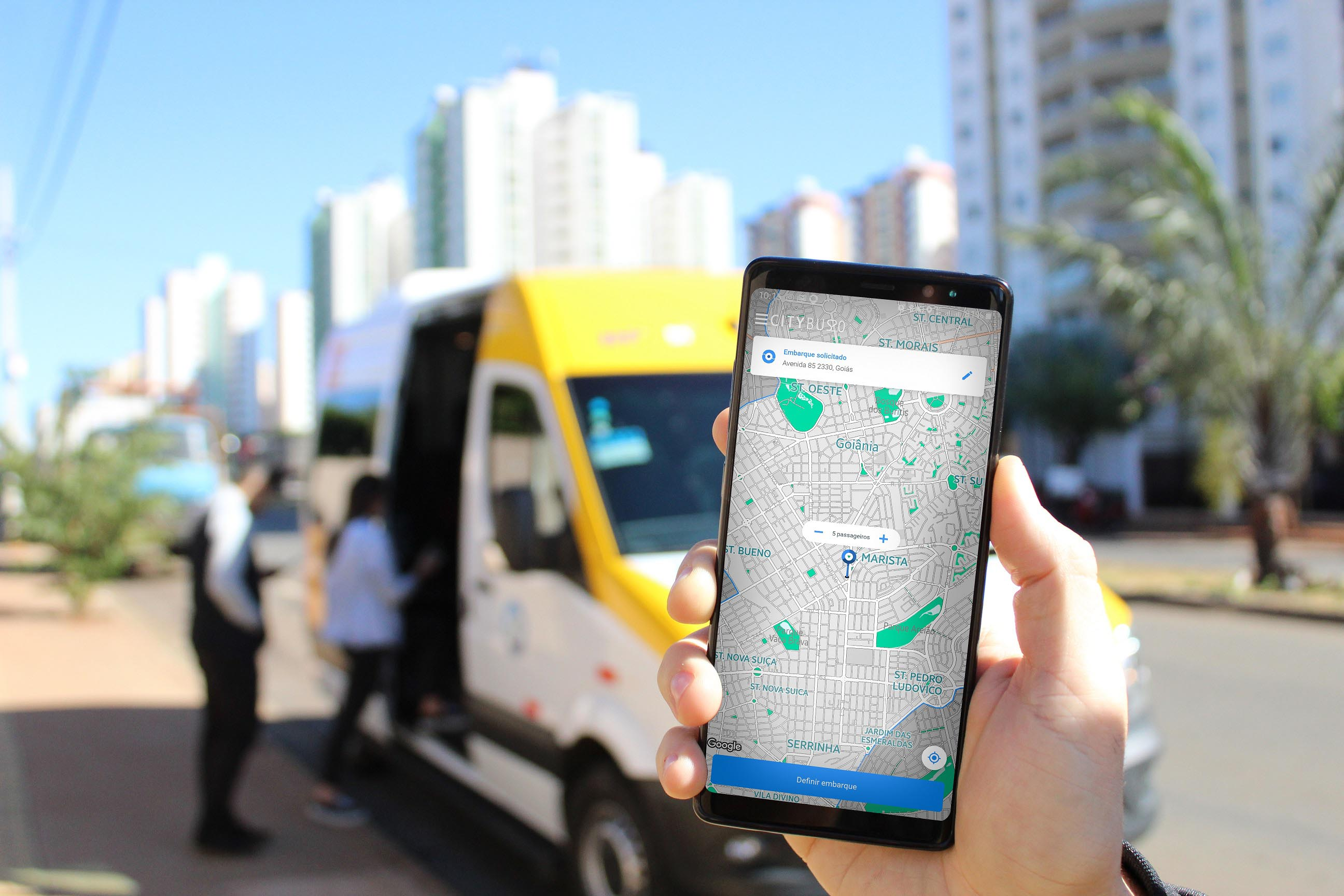 HP CONSOLIDA O SERVIÇO DO CITYBUS 2.0 E EXPANDE PARA MAIS 13 BAIRROS DE GOIÂNIA