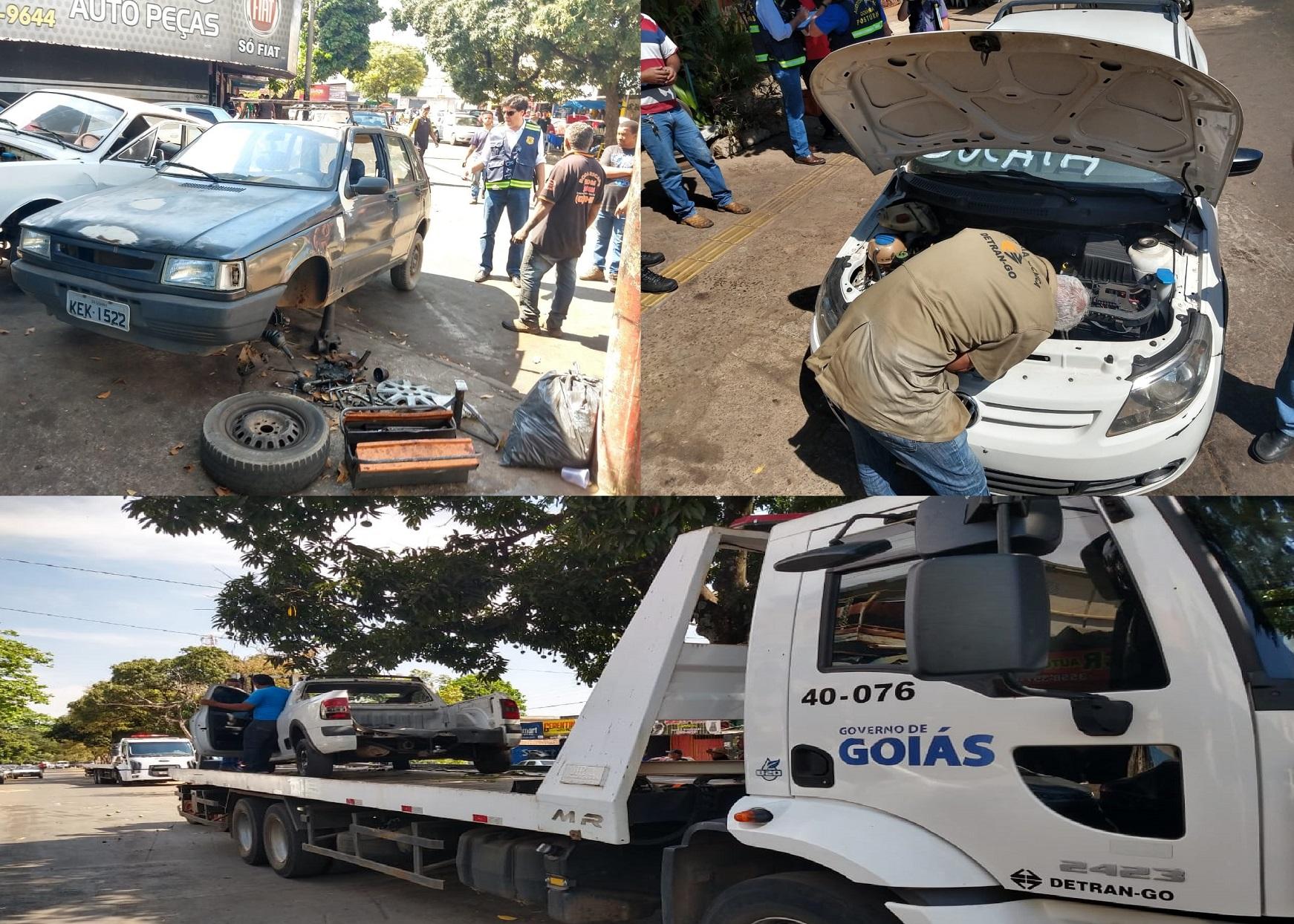 Operação Desmanche flagra irregularidades em ferros-velhos da Vila Canaã