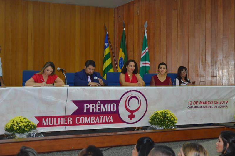 C�mara Municipal de Goi�nia promove 6� edi��o do Pr�mio Mulher Combativa