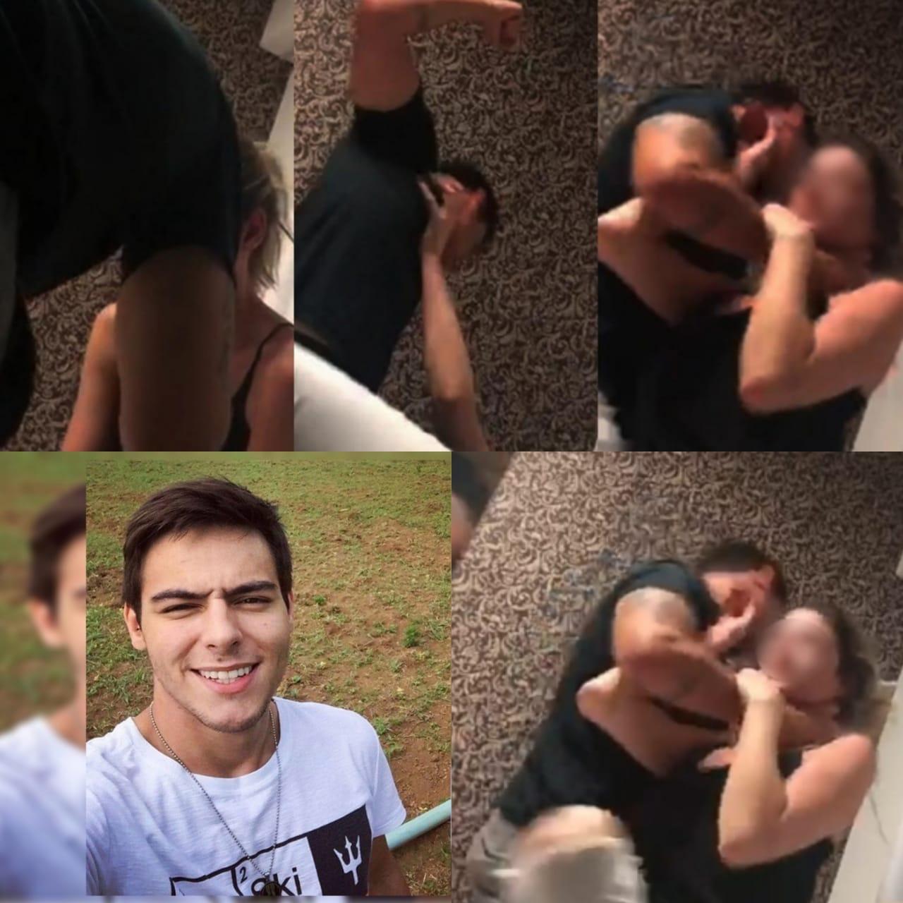Piloto que aparece em vídeo agredindo a namorada é preso