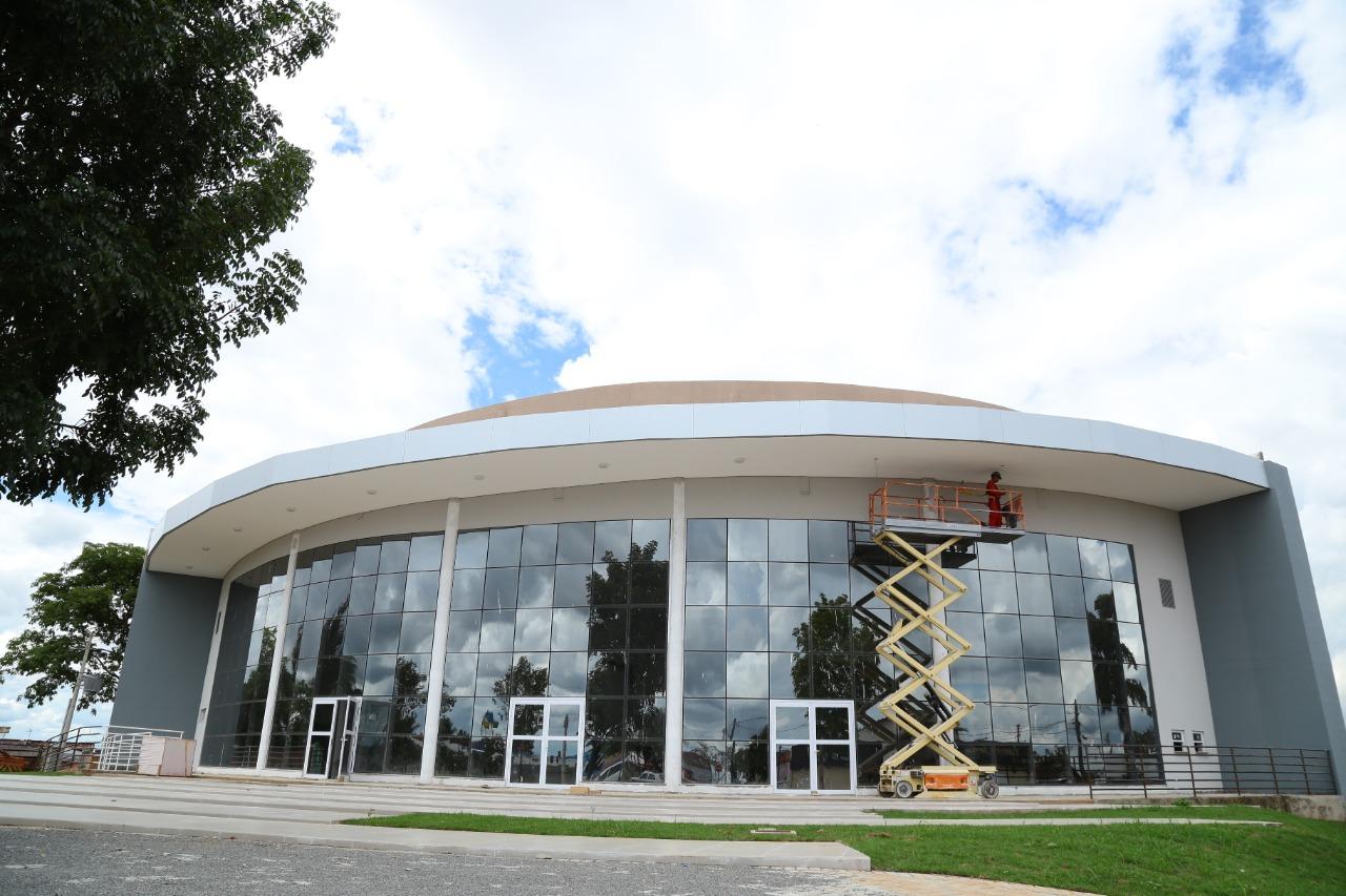 Anfiteatro Municipal de Aparecida de Goiânia tem mais de 85% de obra concluída