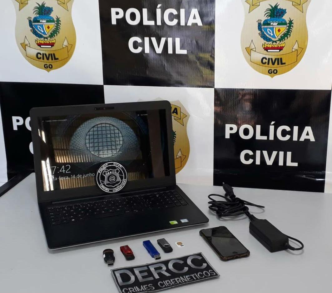 Pol�cia Civil investiga 1� caso de estupro virtual em Goi�s
