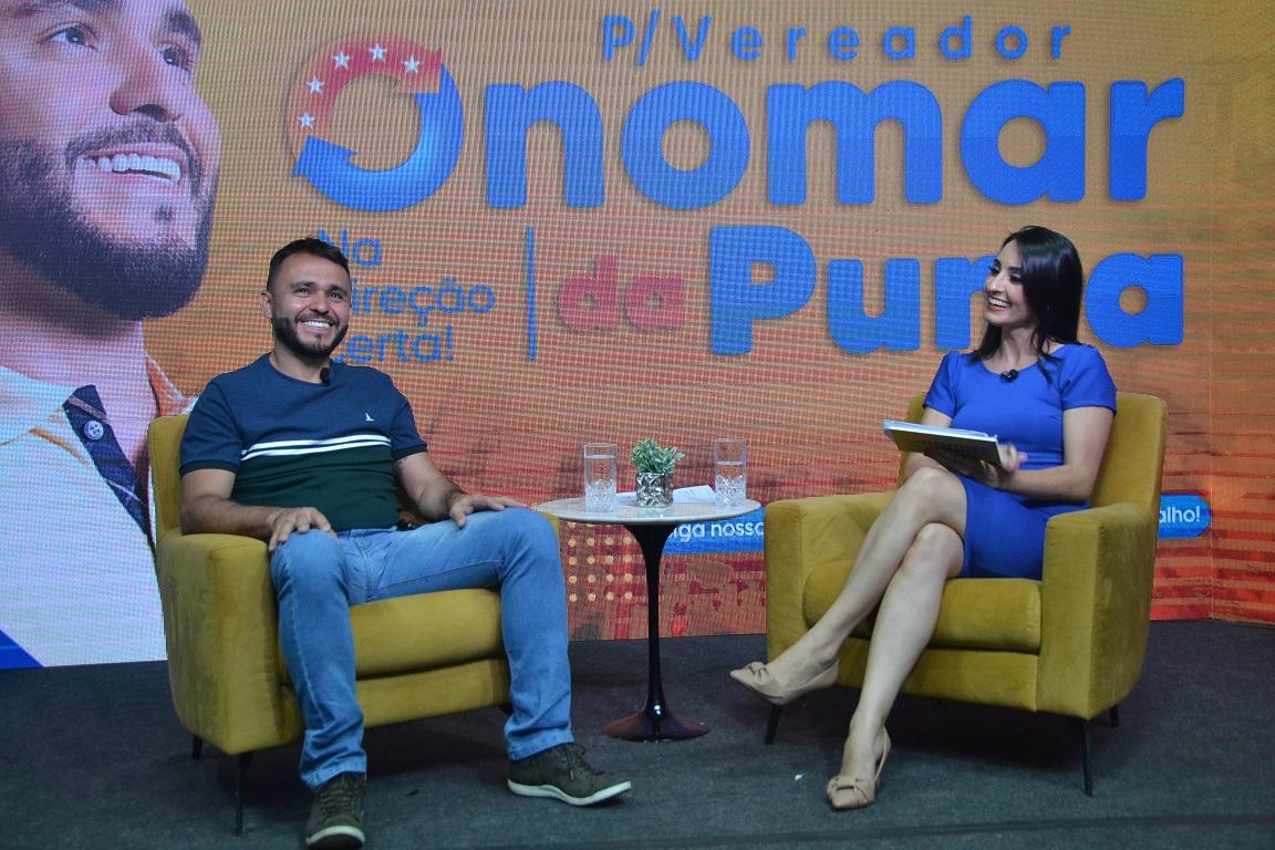 Em live, Onomar da Puma lança candidatura a vereador e se emociona com depoimentos de amigos e familiares