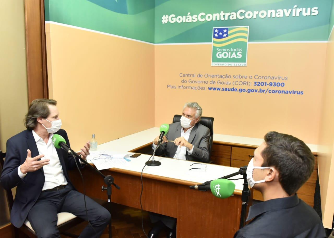 Caiado afirma que não haverá reajuste na tarifa de água em Goiás