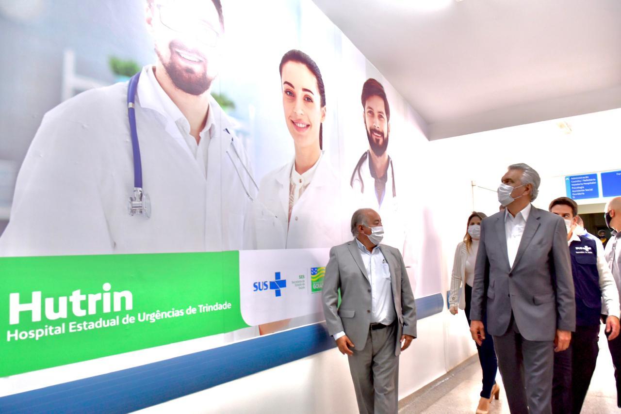 Caiado aposta na regionalização da saúde
