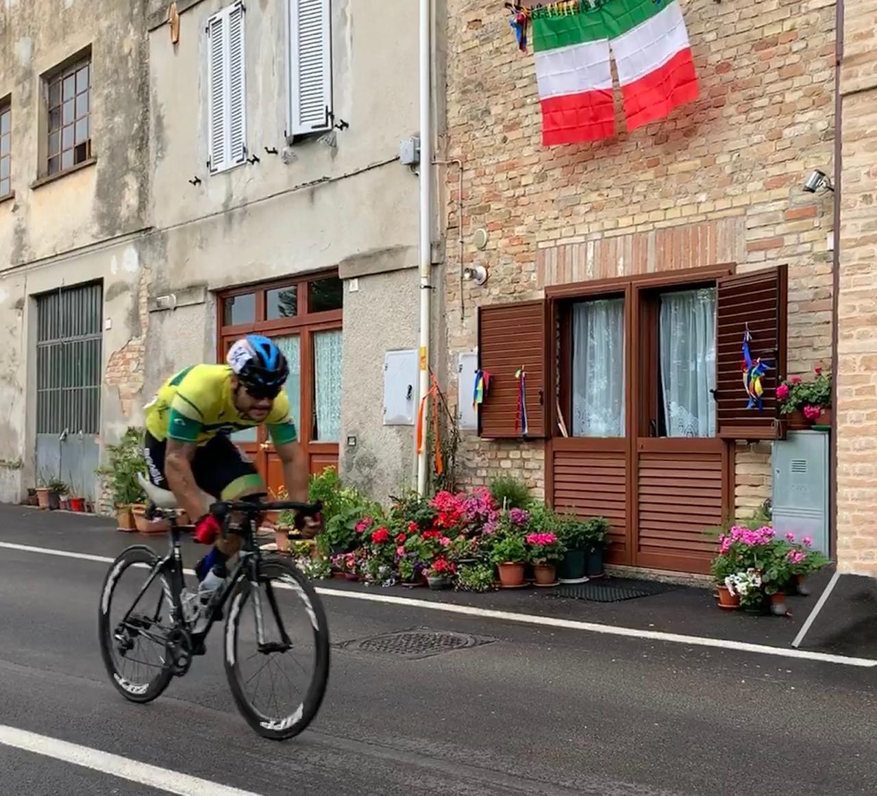 Paraciclista goiano Victor Luise conquista duas medalhas de prata na It�lia