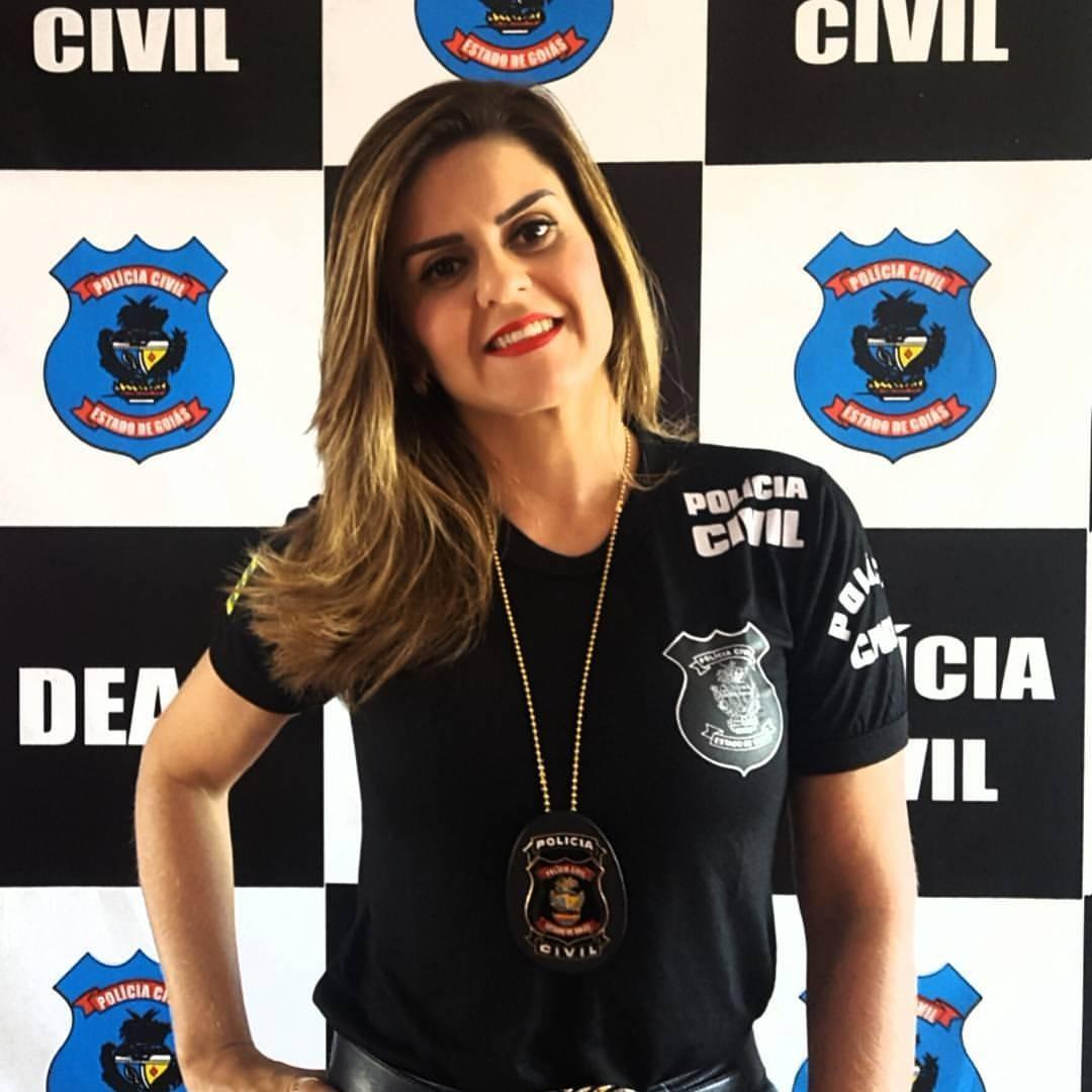Delegada Cybelle entra na briga pela vice de Gustavo Mendanha