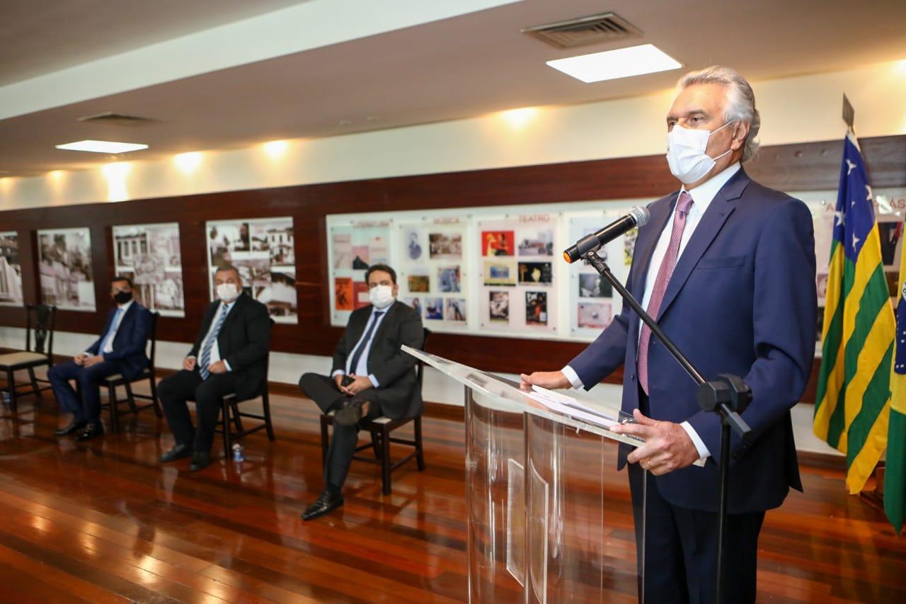 Ao empossar novo presidente do Ipasgo, Caiado diz que plano de sa�de pode ser lucrativo