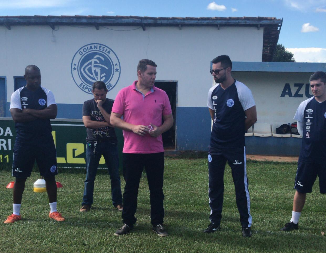 Goian�sia Esporte Clube lan�a projeto para constru��o de Centro de Treinamento