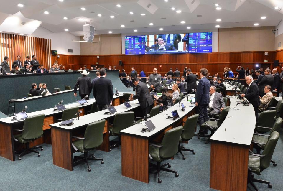Deputados aprovam entrada de Goi�s no Regime de Recupera��o Fiscal