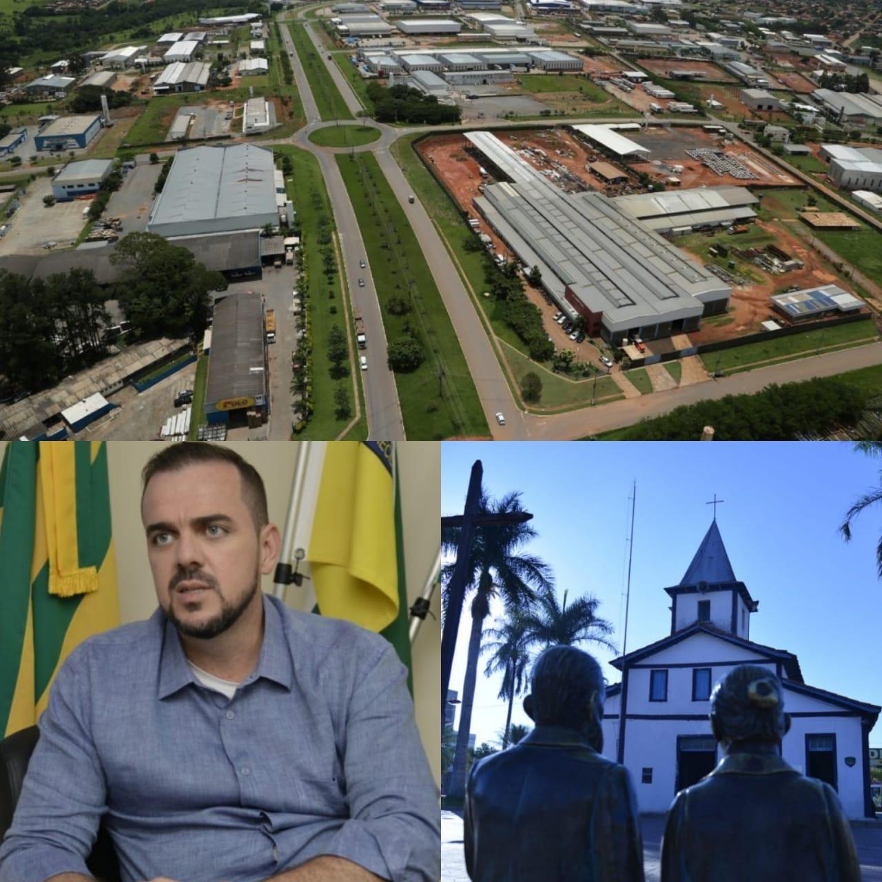Gustavo Mendanha comemora desafios e destaca avanços de Aparecida nesses 97 anos de fundação