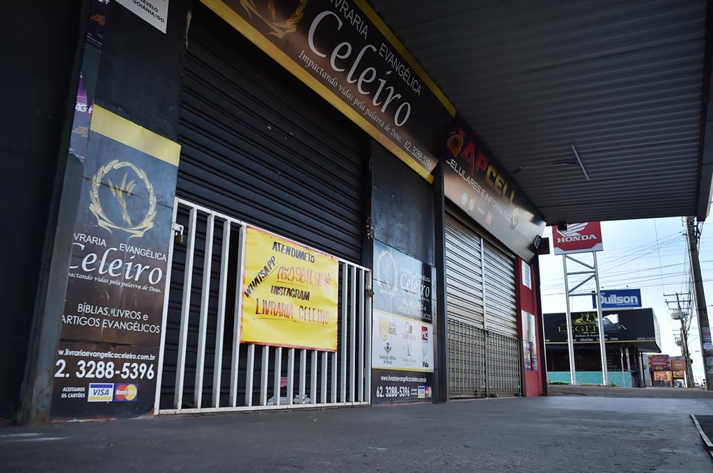 Escalonamento regional � aderido por 98% dos comerciantes de Aparecida de Goi�nia