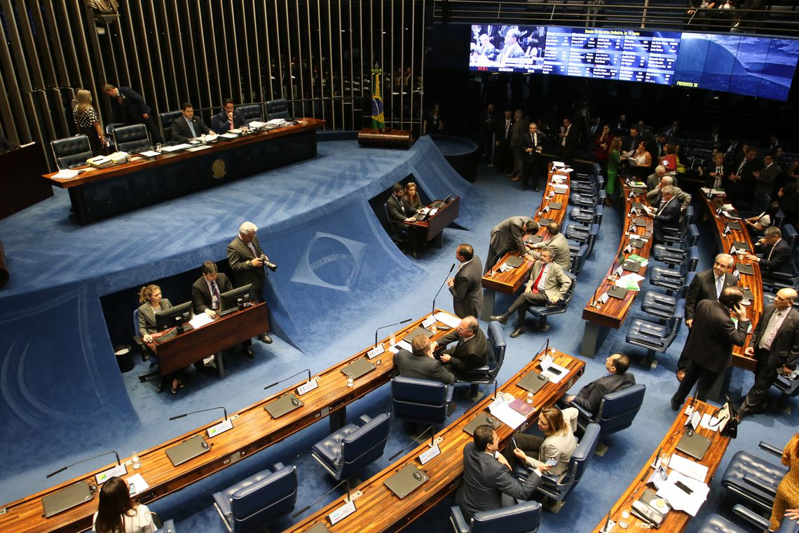 Senado aprova reforma na Lei de Telecomunica��es