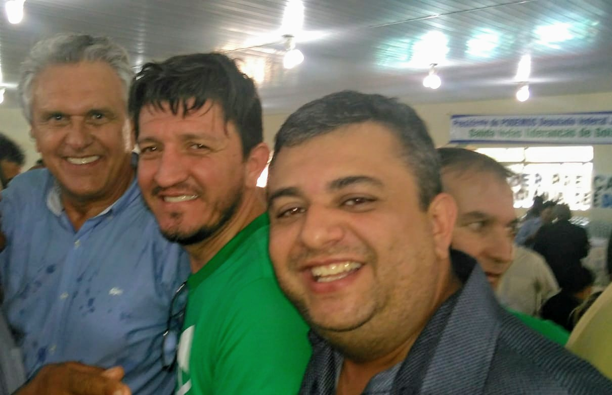 Vice-prefeito de Hidrol�ndia lan�a seu nome para disputar as elei��es para prefeito em 2020