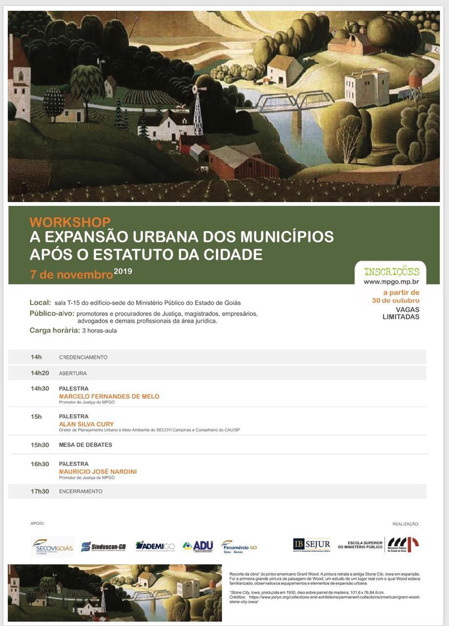 Fecom�rcio e Secovi apoiam workshop sobre Expans�o Urbana