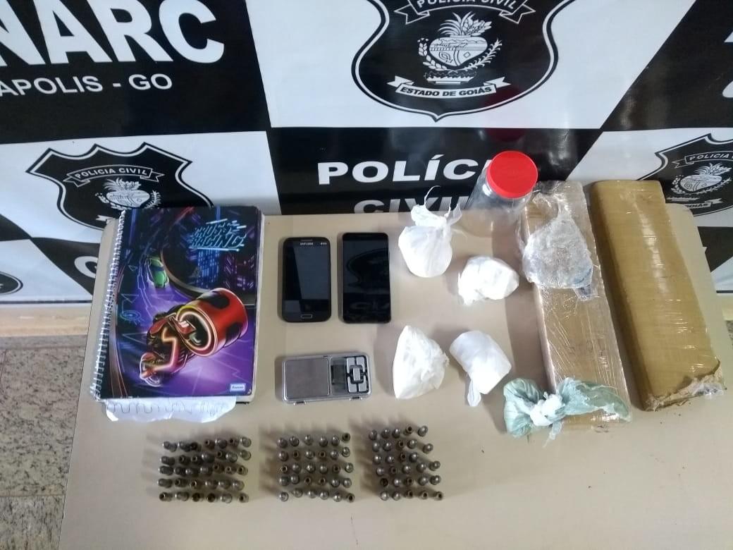 PC prende 11 por homic�dios e tr�fico de droga