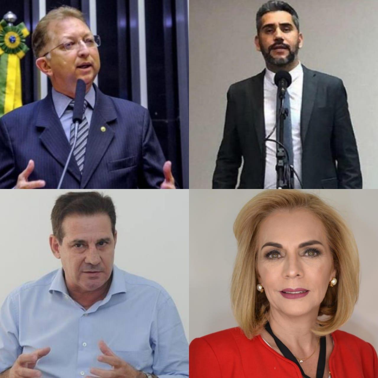 Jo�o Campos e Vanderlan Cardoso ganham espa�o na gest�o de Mendanha em Aparecida de Goi�nia