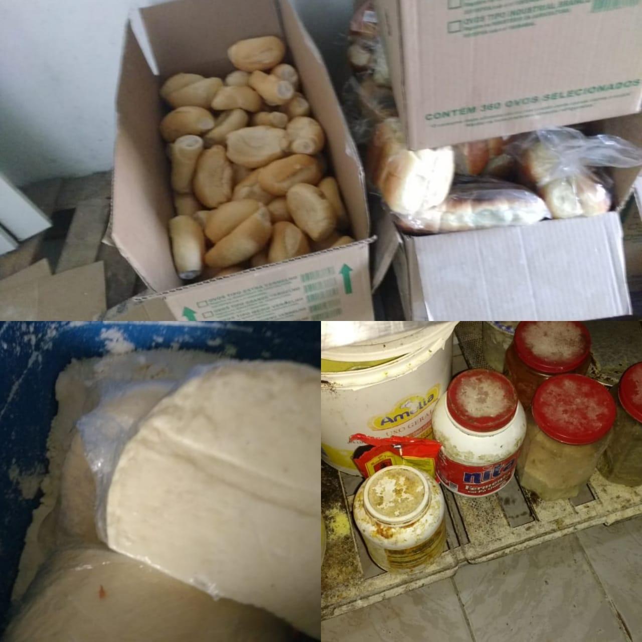 Procon Aparecida apreende mais de 300 kg de alimentos vencidos em lanchonetes e padarias