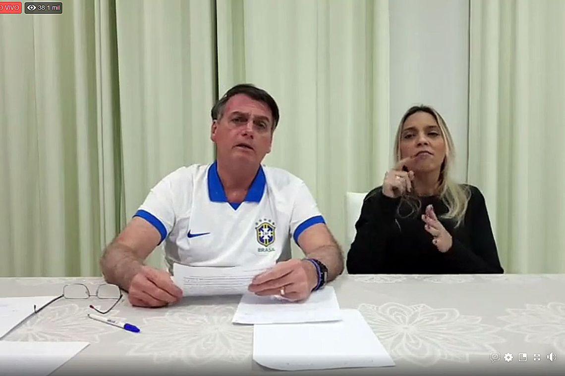 Bolsonaro: invasão de terra tem que ser tipificada como terrorismo