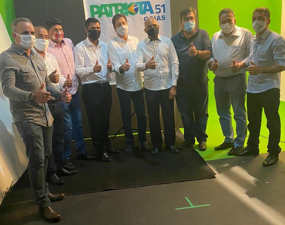 Reforço: Patriota anuncia apoio à candidatura de Maguito Vilela