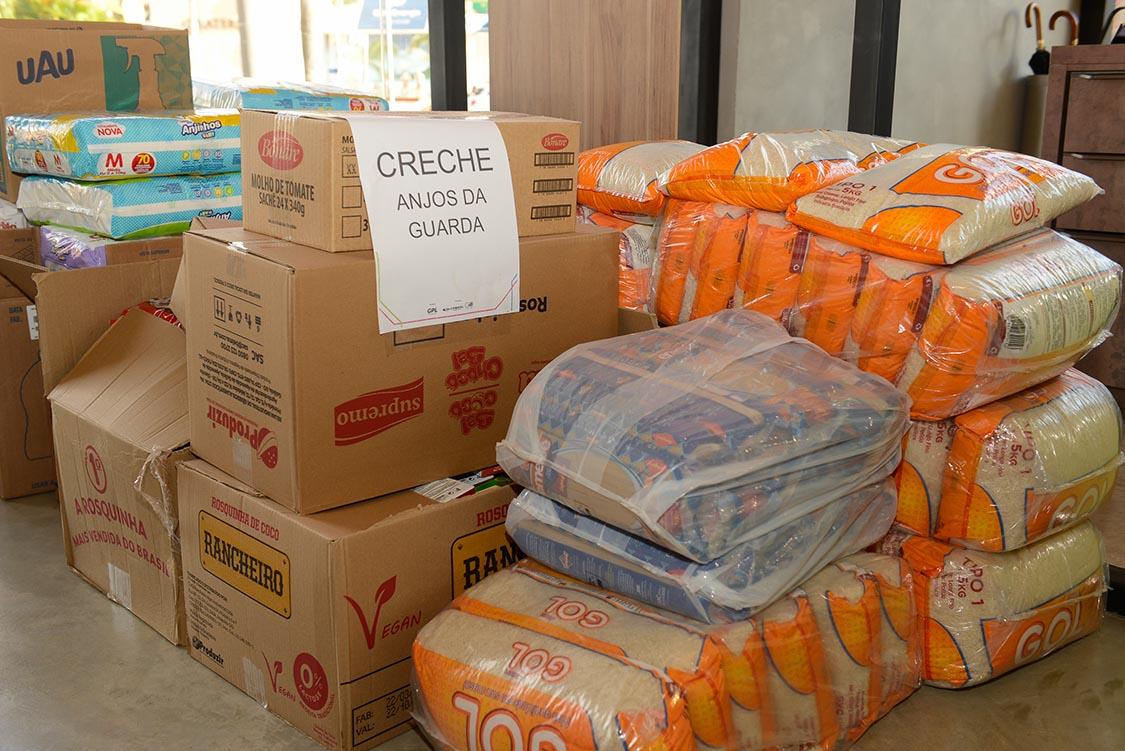 Donativos são entregues ao Cevam e Creche Anjo da Guarda