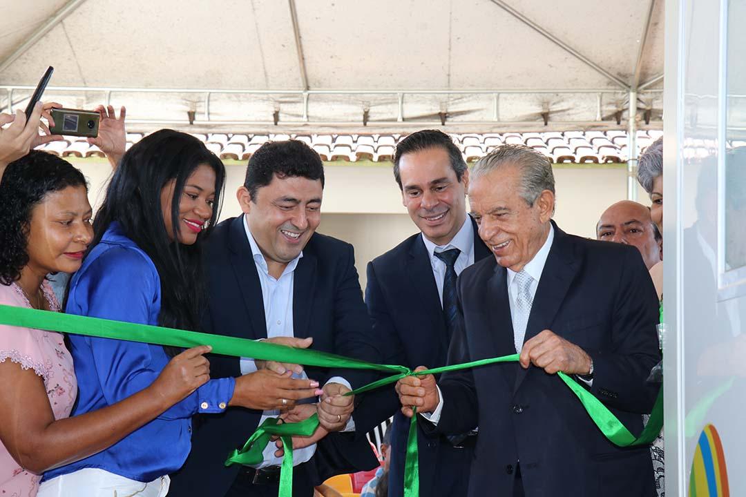 Quatro salas modulares s�o inauguradas no Residencial Itaipu