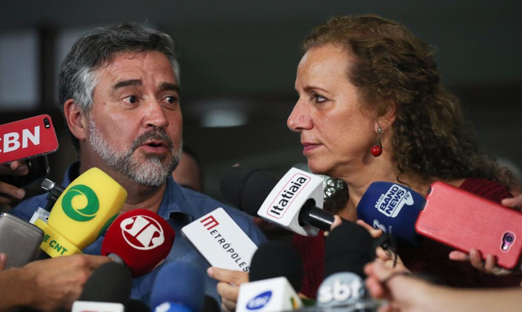 Oposição anuncia obstrução em  votações até afastamento de Moro