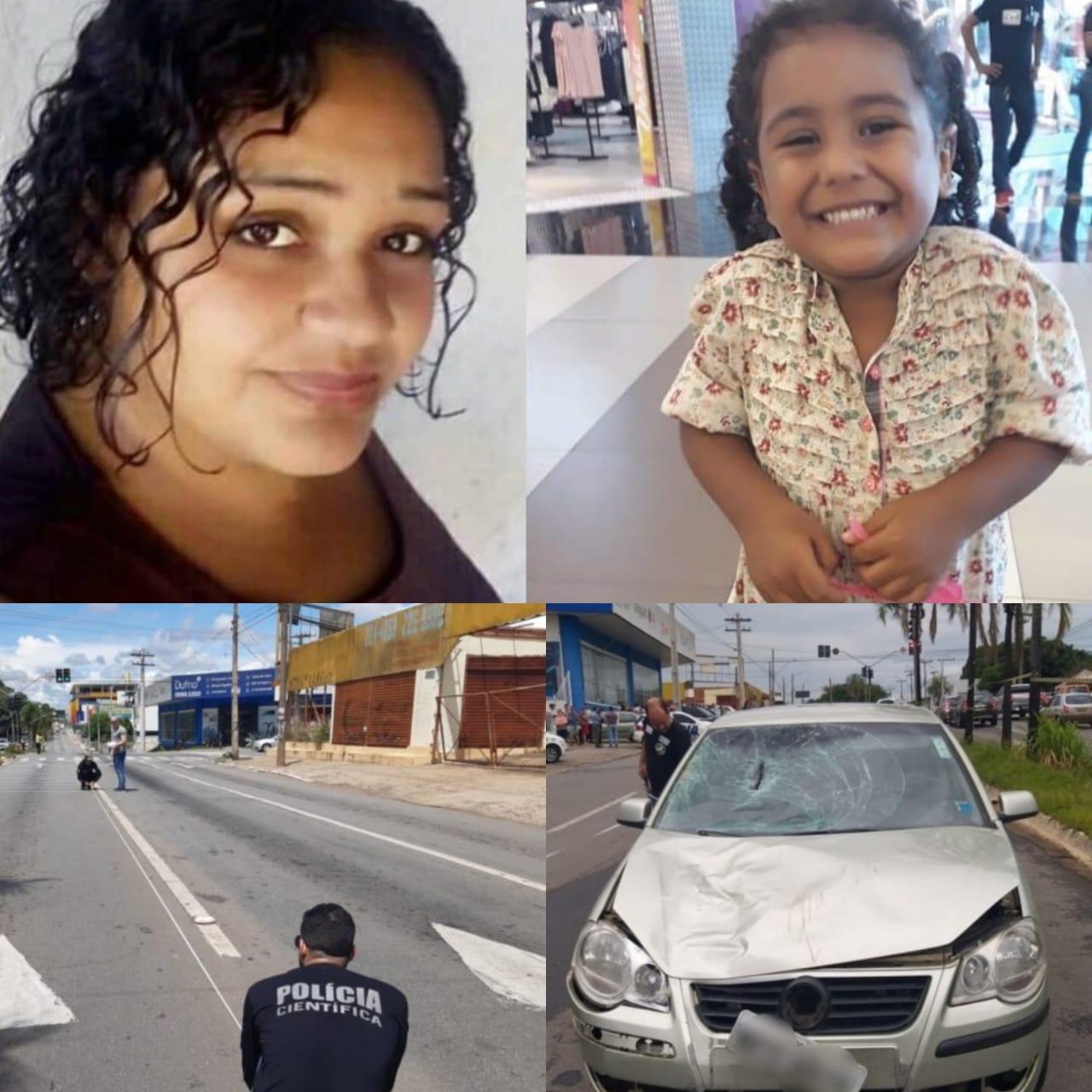 Perícia aponta excesso de velocidade do carro que matou mãe e filha na Av. Independência