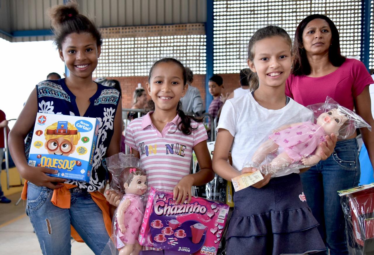 Prefeitura e OVG irão presentear milhares de crianças nesse Natal em Aparecida