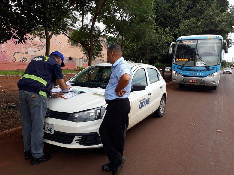 Aumentam infra��es de transportes de passageiros nas rodovias goianas