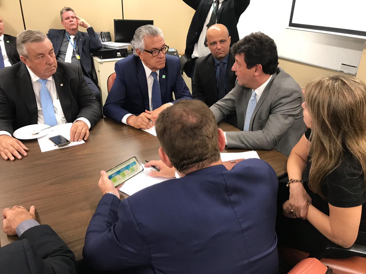Minist�rio da Sa�de e governo de Goi�s unem esfor�os para   garantir a conclus�o das obras do Hospital de �guas Lindas