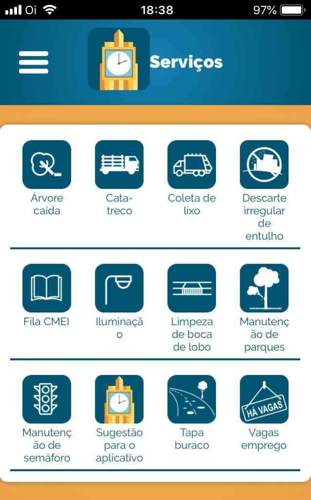Aplicativo facilita pedido de serviços na Prefeitura de Goiânia