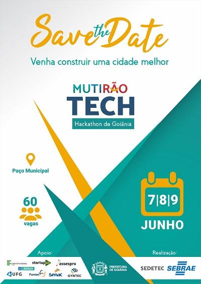 Prefeitura de Goiânia e Sebrae Goiás lançam Mutirão Tech