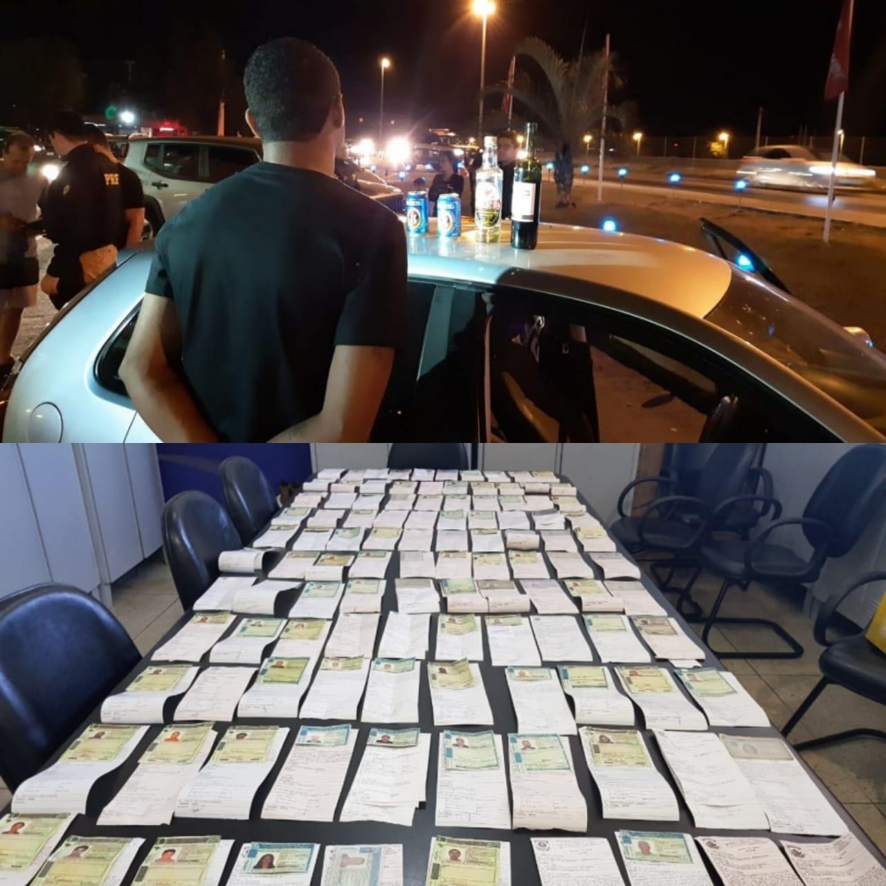 Opera��o Villa Mix flagra 177 motoristas dirigindo embriagados