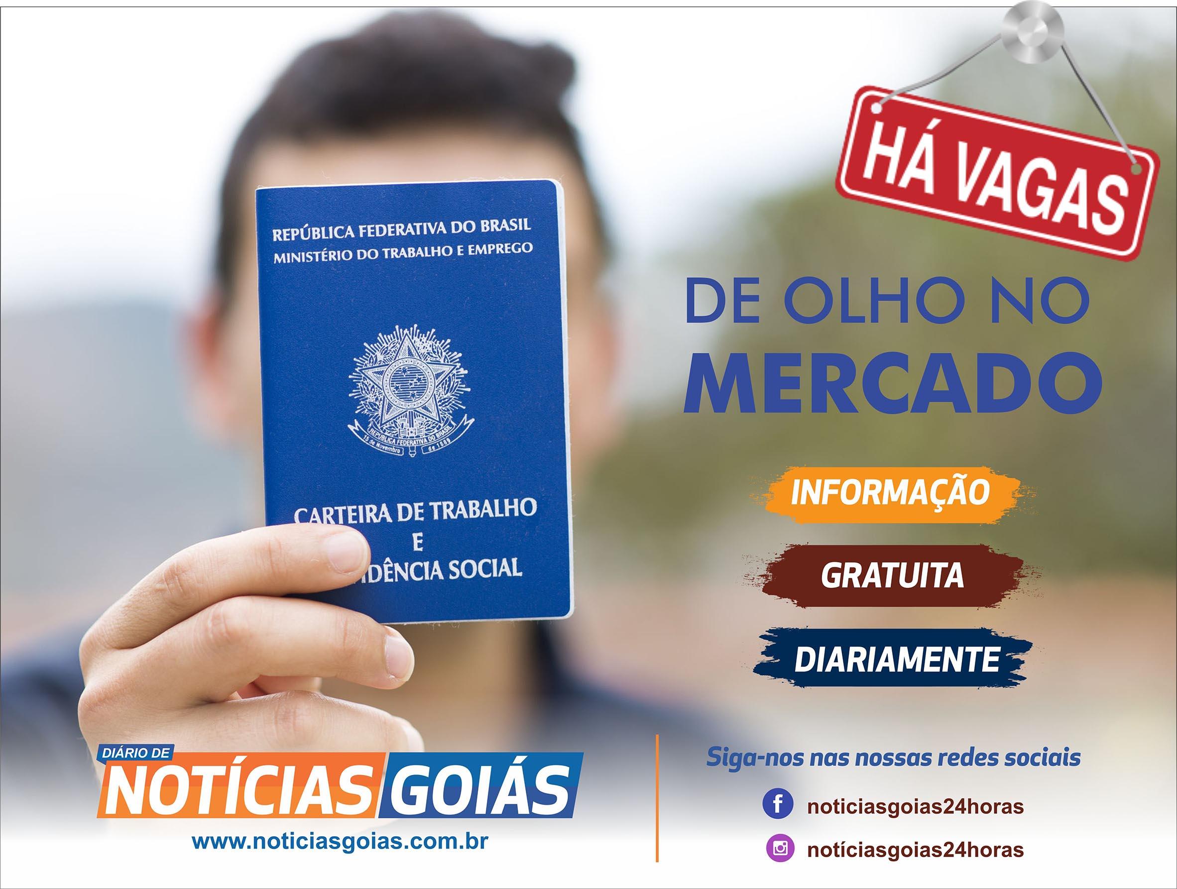 Sine Goi�nia oferece 748 vagas de emprego nesta segunda-feira (21/10)
