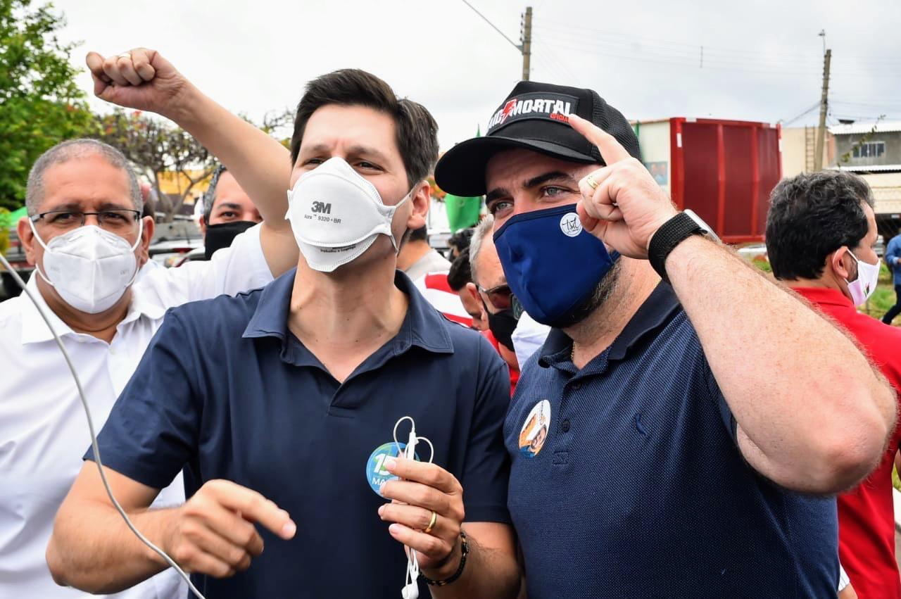Campanhas de Maguito e Mendanha defendem parceria administrativa entre os munic�pios