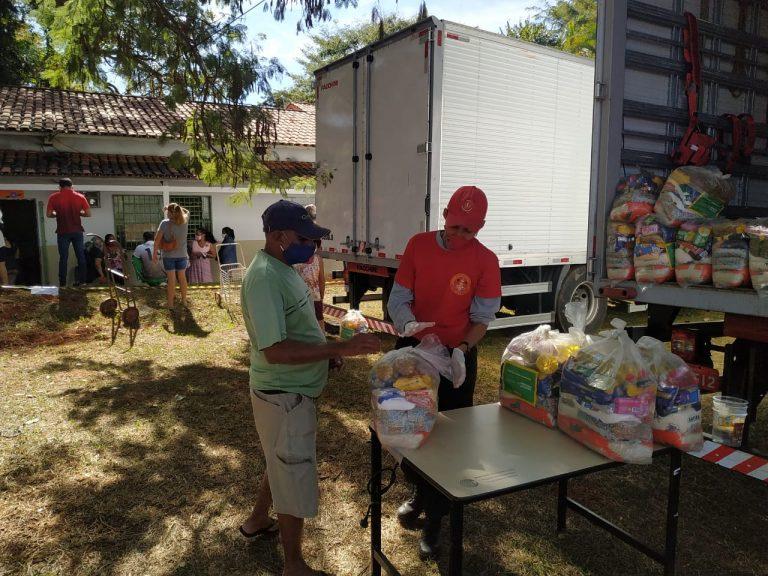 Prefeitura de Goi�nia entrega cestas b�sicas mediante agendamento
